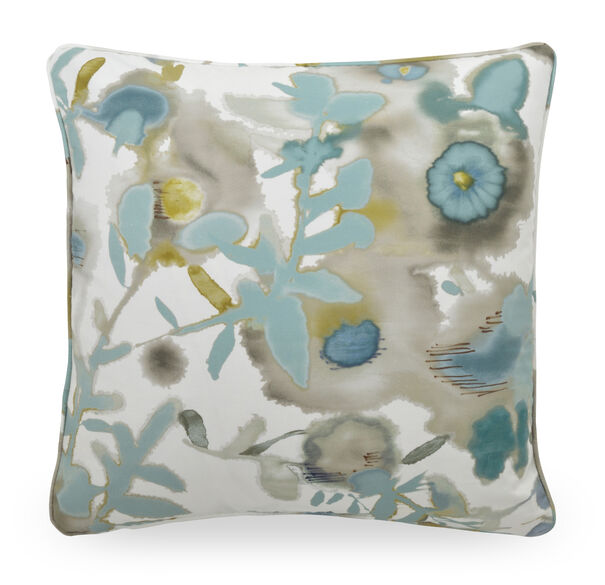 22 IN. X 22 IN. DOWN ACCENT PILLOW, ALESSIA - SPA, hi-res