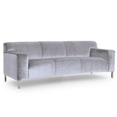 MARCELLO CURVED SOFA, BODEN - SILVER, hi-res