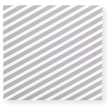 GRAY DIAGONAL WALL ART, , hi-res