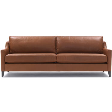 GIGI NO SKIRT LEATHER SOFA, , hi-res