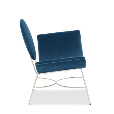 ELROY RIGHT ARM CHAIR, BOULEVARD - DEEP BLUE, hi-res