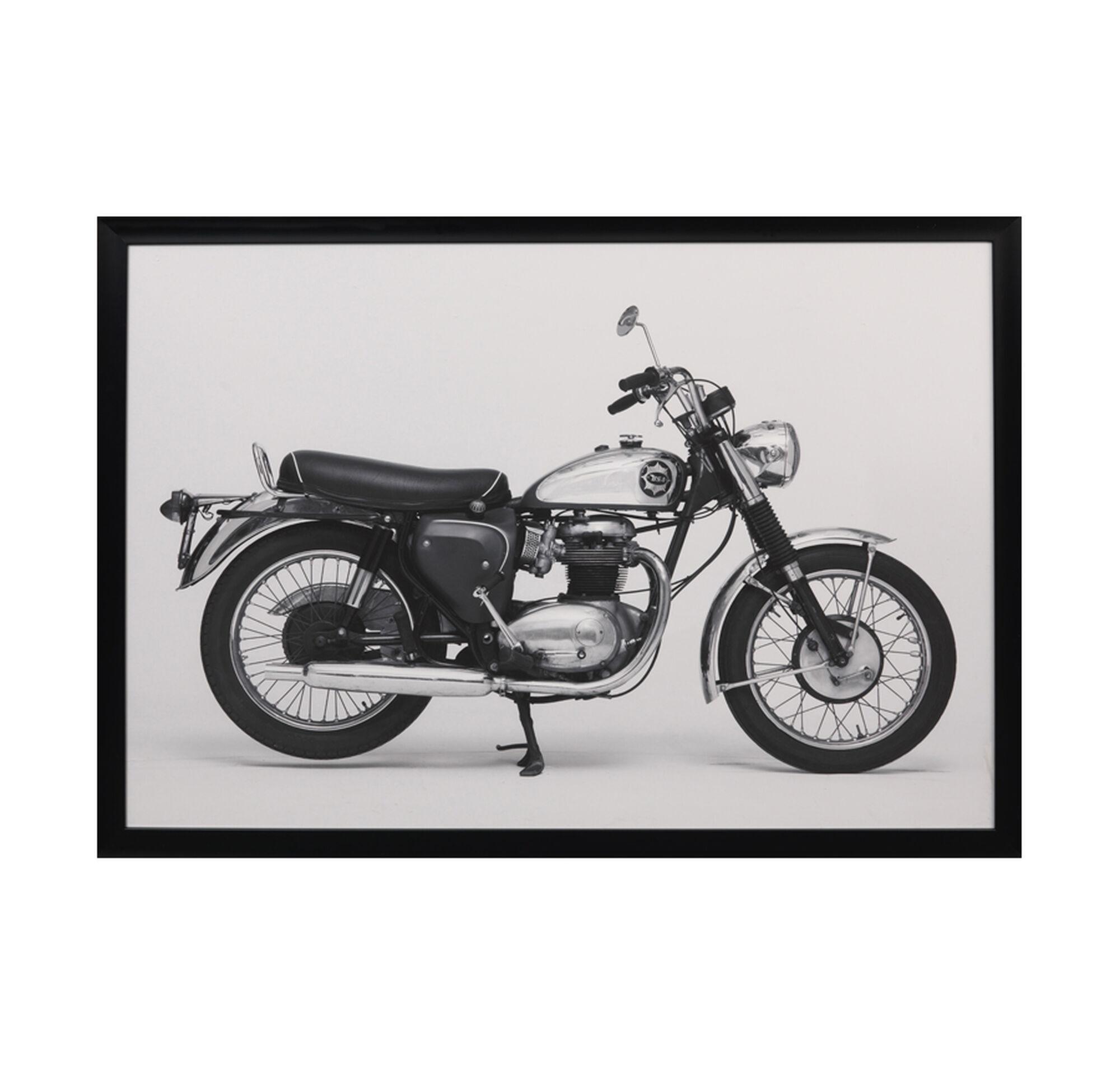 BSA MOTORCYCLE WALL ART