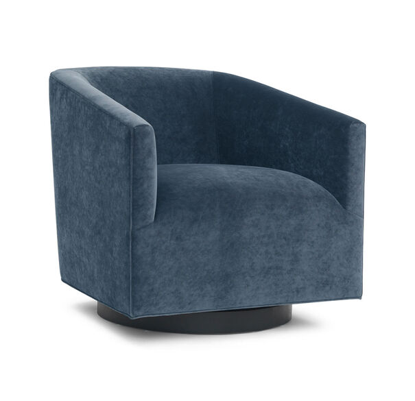 COOPER STUDIO FULL SWIVEL CHAIR, BOULEVARD - DEEP BLUE, hi-res