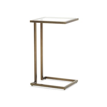 VIENNA PULL-UP SIDE TABLE - ANTIQUE BRASS, , hi-res