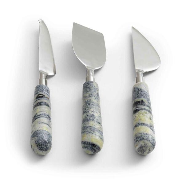 JADE MARBLE CHEESE KNIVES, , hi-res
