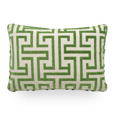 22 IN. X 15 IN. DOWN ACCENT PILLOW, DELMONICO - EMERALD, hi-res