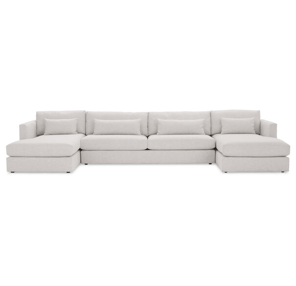 HAYWOOD U-CHAISE SECTIONAL, , hi-res