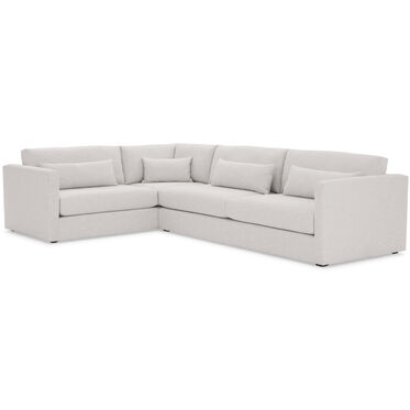 HAYWOOD RIGHT ARM SECTIONAL, SOL - SILVER, hi-res