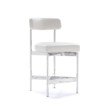 REMY LEATHER COUNTER STOOL, CORDELL - DOVE, hi-res