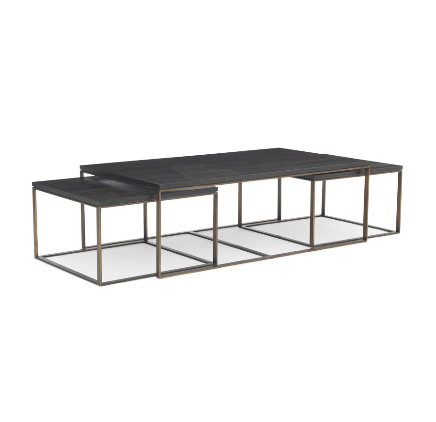 allure nesting cocktail table hires