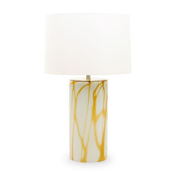 PEMBROKE TABLE LAMP - AMBER, , hi-res
