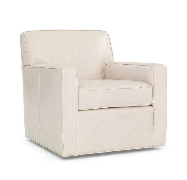 FELIX LEATHER SWIVEL CHAIR, , hi-res