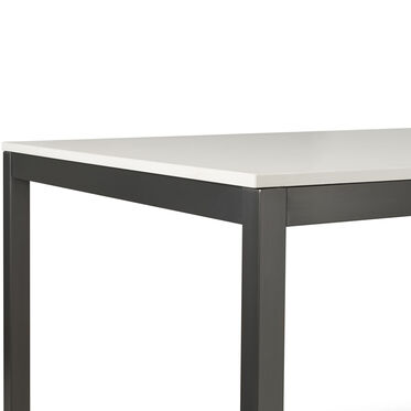 ESSENTIAL PARSONS DINING TABLE - PEWTER, , hi-res