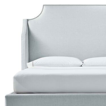 MIRABELLE TALL QUEEN FLOATING RAIL BED, WORTH - SKY BLUE, hi-res