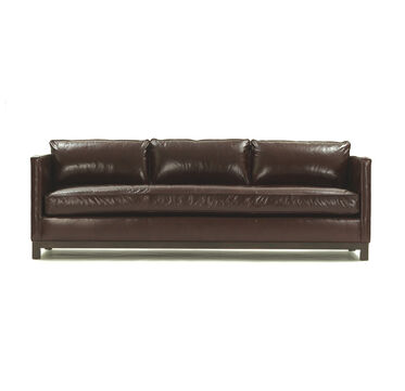 CLIFTON LEATHER SOFA, , hi-res