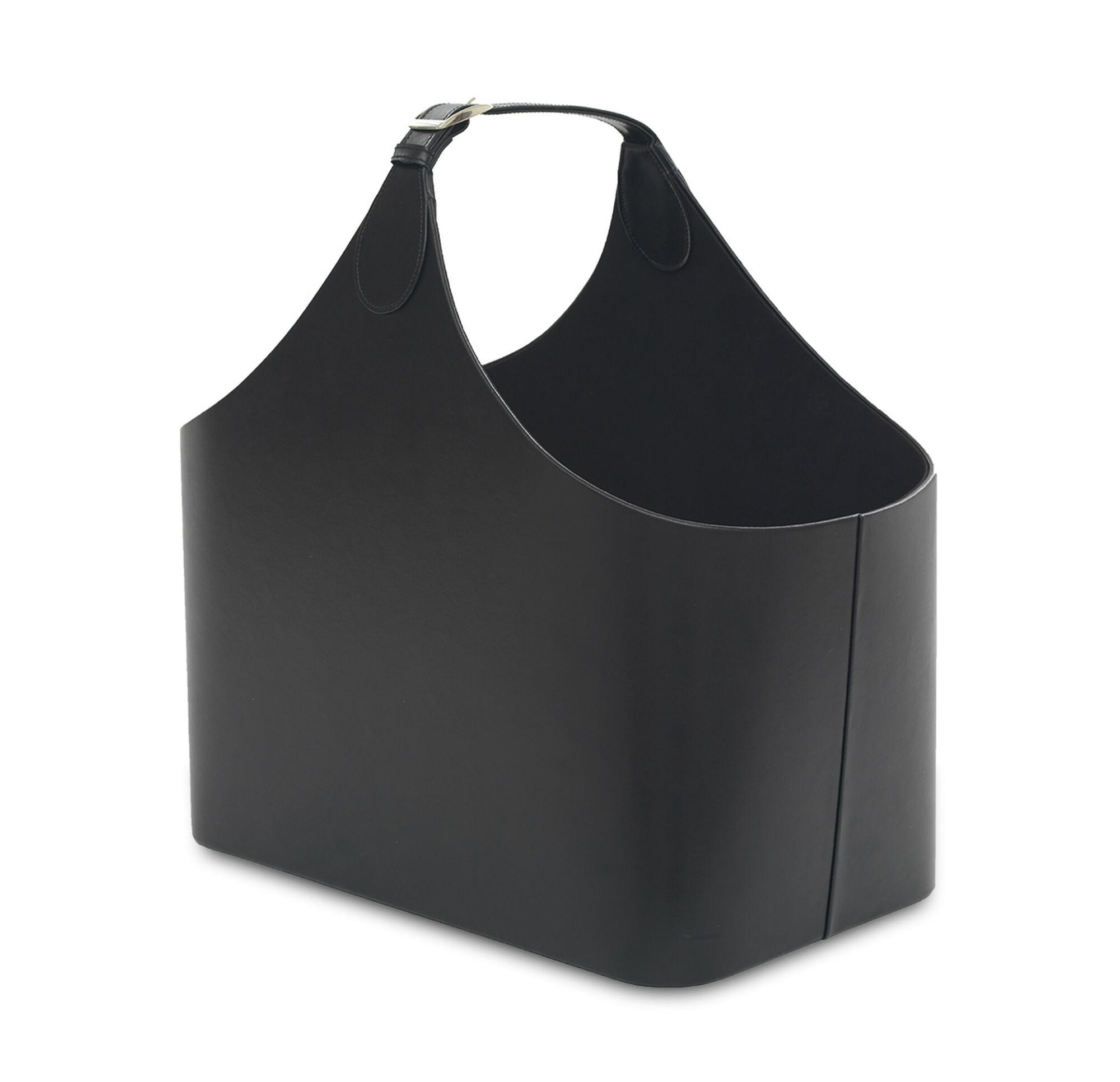 adeline black magazine holder