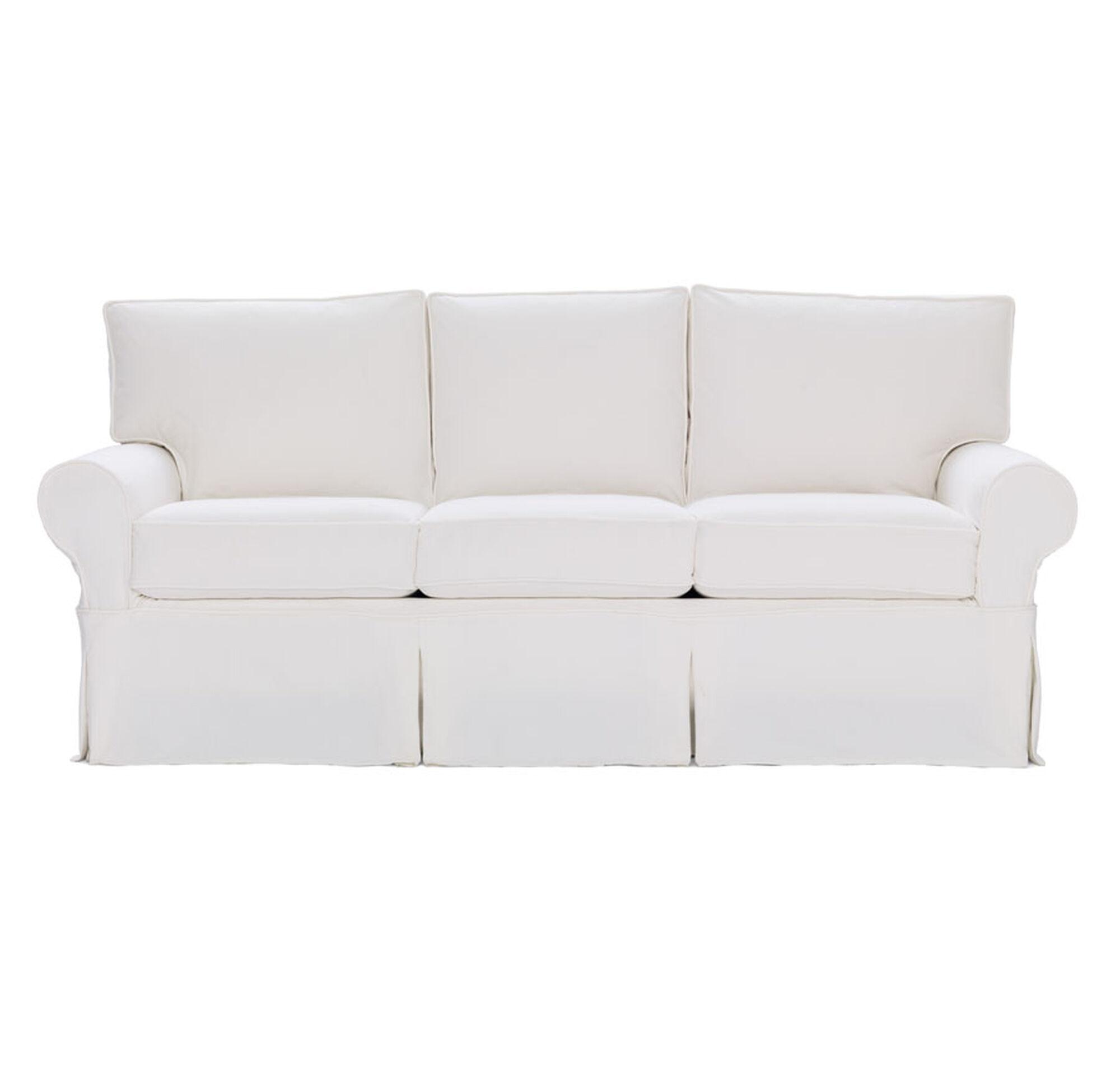 slipcovered sleeper sofas ealing slipcover sleeper sofa ambroseupholstery thesofa. Black Bedroom Furniture Sets. Home Design Ideas