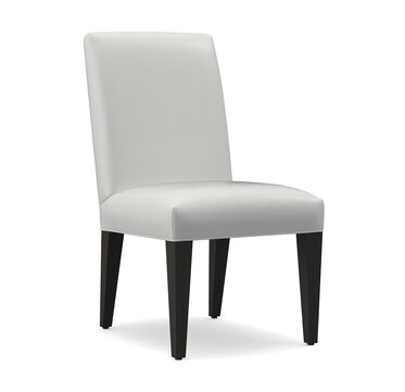 ANTHONY LEATHER SIDE DINING CHAIR, MANCHESTER - GRAPHIT, hi-res