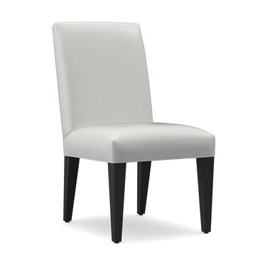 ANTHONY LEATHER SIDE DINING CHAIR, TAHOE - WHITE, hi-res