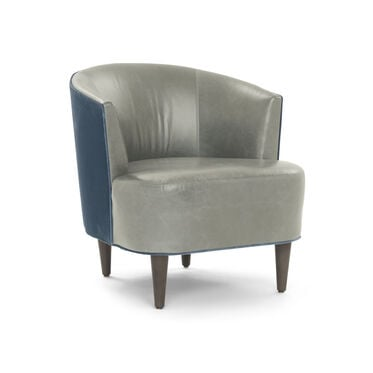 COSTELLO LEATHER CHAIR, MONT BLANC - FERN, hi-res