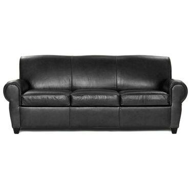 PHILIPPE LUXE QUEEN SLEEPER SOFA, ROYALE - ONYX, hi-res