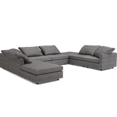 BIG EASY 8-PC SECTIONAL, COSTA - CHARCOAL, hi-res