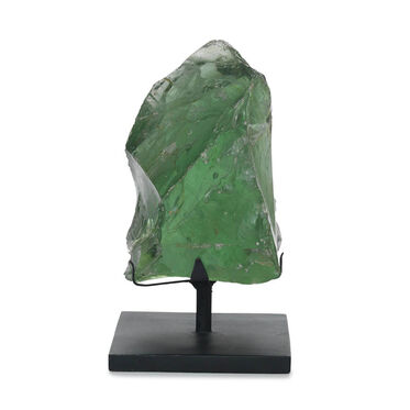 HIDDENITE GLASS SCULPTURE, , hi-res