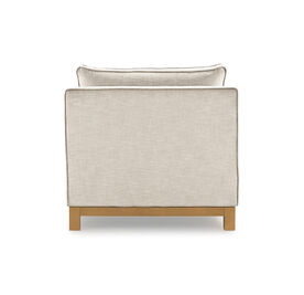 CLIFTON LOUNGE, Performance Textured Linen - OATMEAL, hi-res