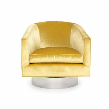 BIANCA FULL SWIVEL CHAIR, EVERSON - CANARY, hi-res