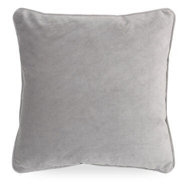 21 IN. SQUARE THROW PILLOW, VIVID - SILVER, hi-res