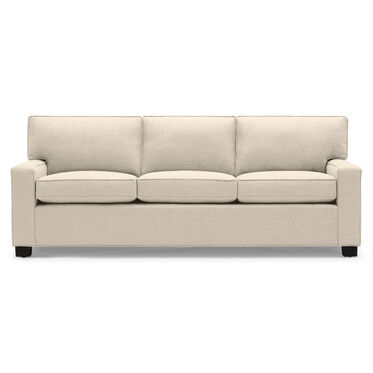 ALEX SOFA, PERFORMANCE LUSTROUS BASKET WEAVE - CREAM                             , hi-res