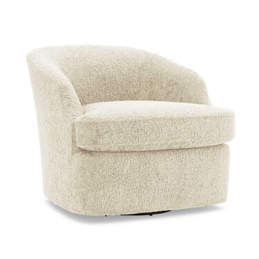 ARIES FULL SWIVEL CHAIR, SHERPA - NATURAL, hi-res