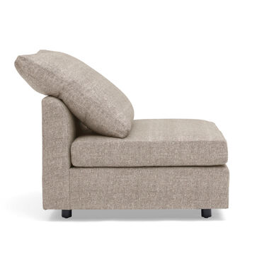 BIG EASY ARMLESS CHAIR, COSTA - TAUPE, hi-res
