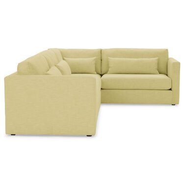 HAYWOOD LEFT ARM SECTIONAL, SOL - CHARTREUSE, hi-res