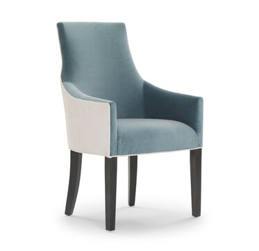 ADA ARM DINING CHAIR, VIVID - AZURE, hi-res