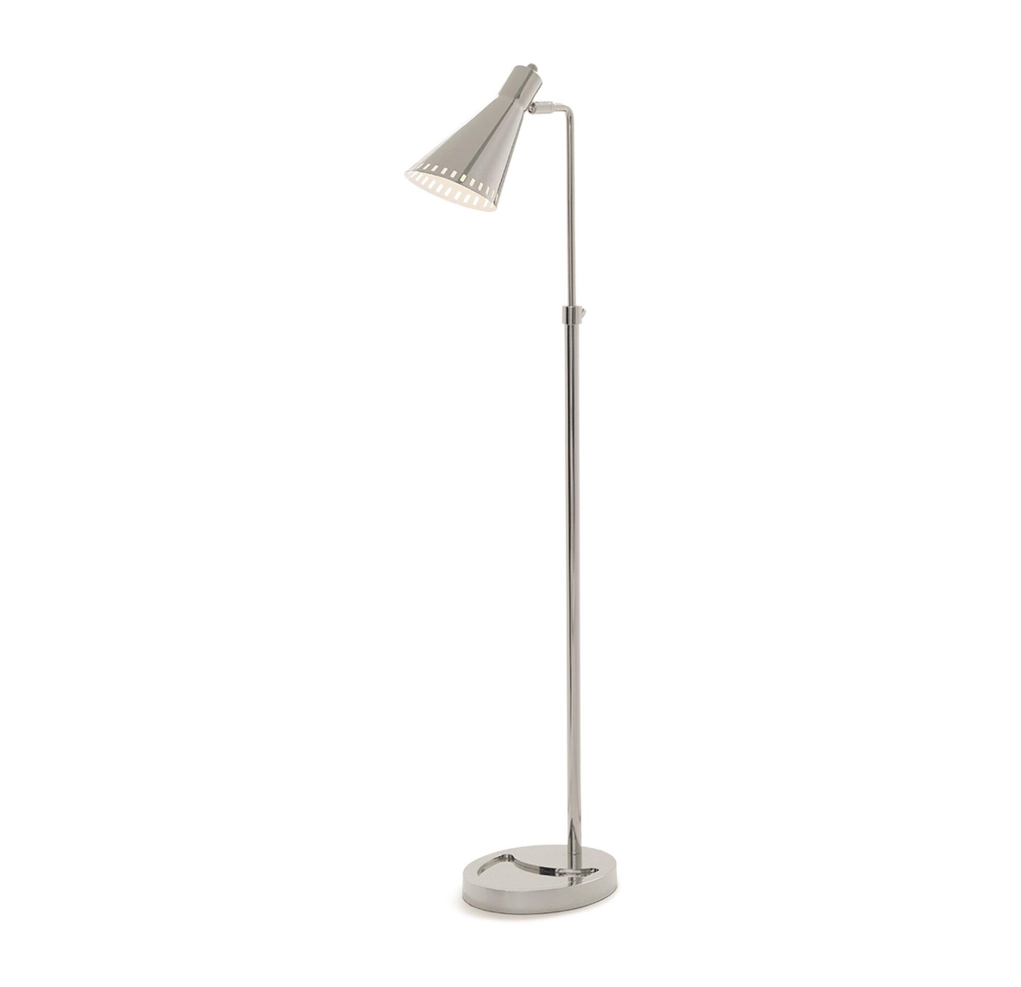 Floor lamps palmer floor lamp polished nickel hi res aloadofball Image collections