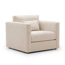 HAYWOOD CHAIR, Performance Textured Linen - OATMEAL, hi-res