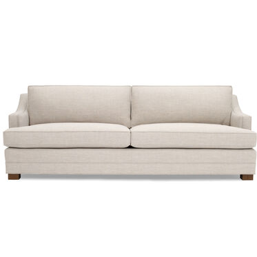 KEATON SLOPE ARM SOFA STUDIO DEPTH, NUANCE - ECRU, hi-res