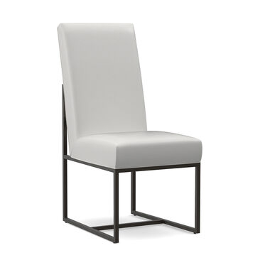 GAGE LEATHER TALL DINING CHAIR, TAHOE - WHITE, hi-res