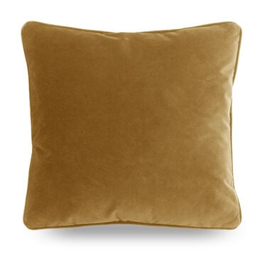 21 IN. SQUARE THROW PILLOW, AVIGNON - CAMEL, hi-res