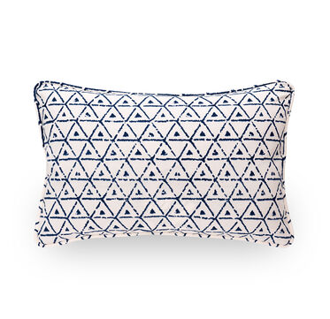 SINGLE 18X12 DOWN WITH WELT ACCENT PILLOW, , hi-res
