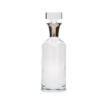 TALL GLASS RING DECANTER, , hi-res