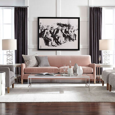 SLOANE SOFA, VIVID - BLUSH, hi-res
