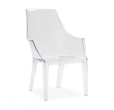CLAIR CLEAR DINING CHAIR, , hi-res