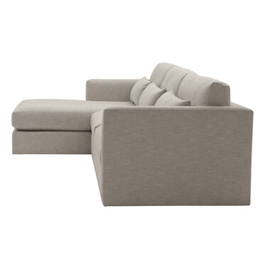 HAYWOOD LEFT CHAISE SECTIONAL, SOL - PEWTER, hi-res
