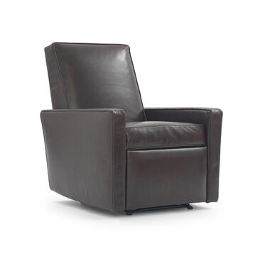 FELIX LEATHER RECLINER, CASPIAN - ANTHRACITE, hi-res