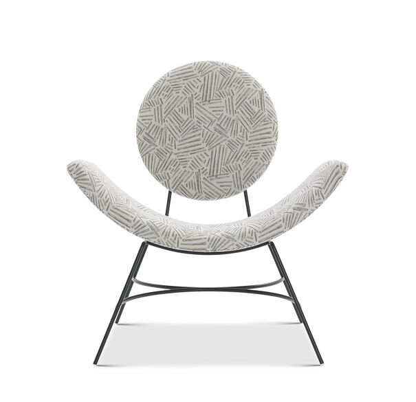 ELROY CHAIR, KORBY - PEWTER, hi-res