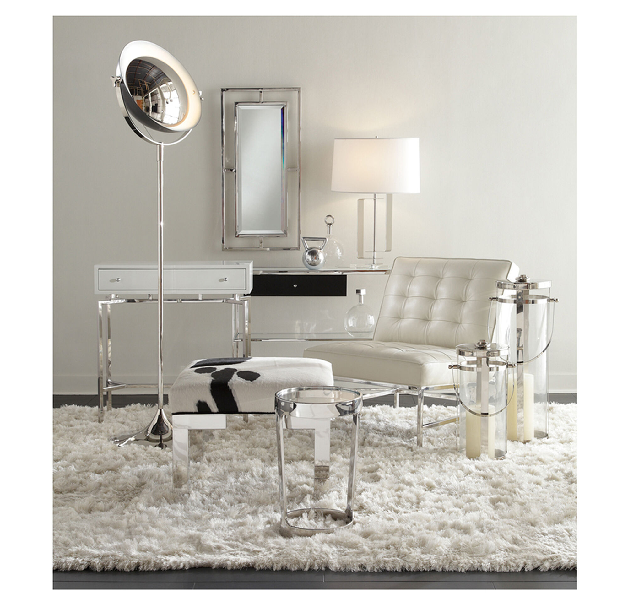 MING WHITE LACQUER CONSOLE TABLE