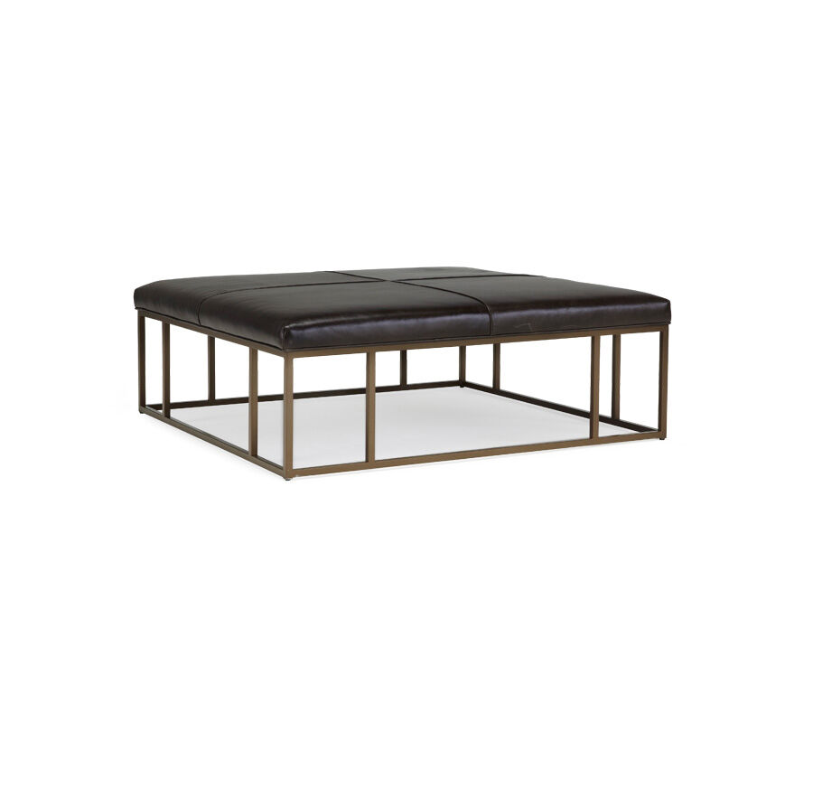 carmen leather square ottoman caspian anthracite hires
