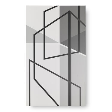 GEOMETRIC PERSPECTIVE WALL ART, , hi-res